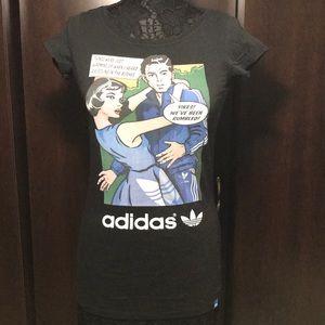 Adidas Comic T-Shirt Sz S